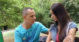 Mladý český sexi pár