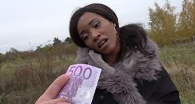 500 eur pre černošku